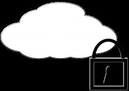 beschermt en beheert data in een cloud